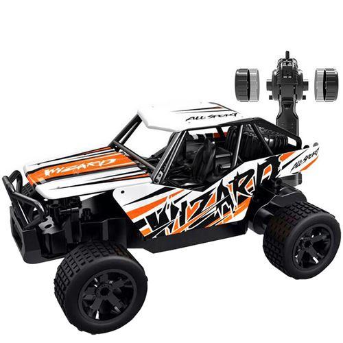 1:20 2WD haute vitesse RC voiture de course camion télécommandé tout-terrain Buggy jouets - Multicolore