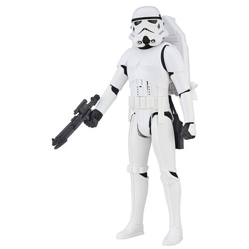 Star Wars Hasbro – B7098 Rogue One – Interactech Imperial Stormtrooper – Figurine Parlant Anglais 30 cm