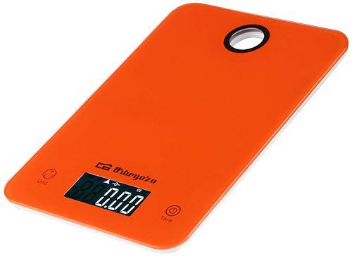 Orbegozo PC Balance électronique de cuisine orange