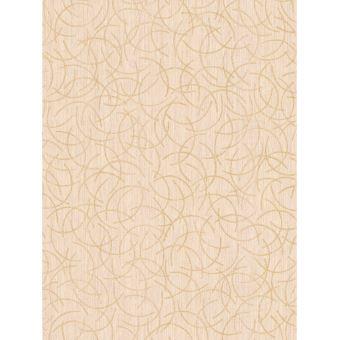 Motif Geometrique Scintiller Papier Peint Creme Et Or Decors Et