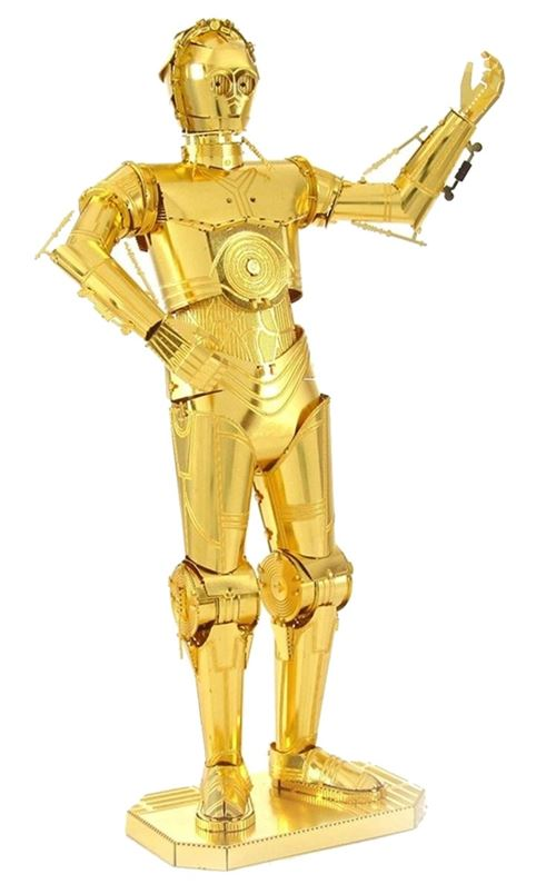 Metal Earth kit de construction Star Wars Gold C-3PO