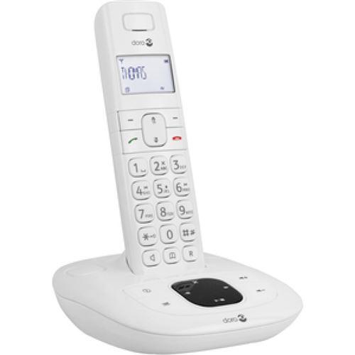 Doro Comfort 1015 téléphone sans fil pour sénior Blanc