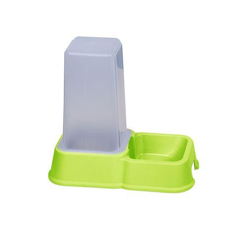 Dogi - Distributeur de croquettes - 1,5 L - Vert
