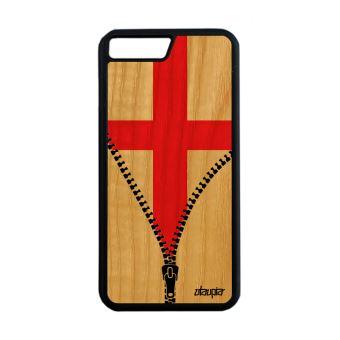 coque iphone 7 apple bois