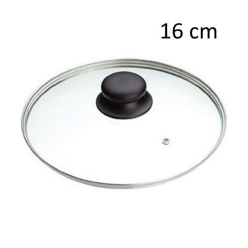 Couvercle De Casserole 16 Cm Verre Inox Ustensile Cuisine