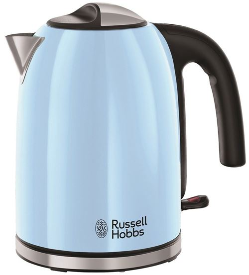 Russell Hobbs Colours Plus 20417-70 - Bouilloire - 1.7 litres - 2.4 kWatt - bleu céleste