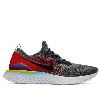 Baskets basses Nike Epic React Flyknit 2 Graphite pour