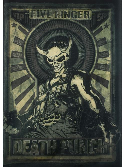 Drapeau Five Finger Death Punch Mercenary 77 x 105 cm