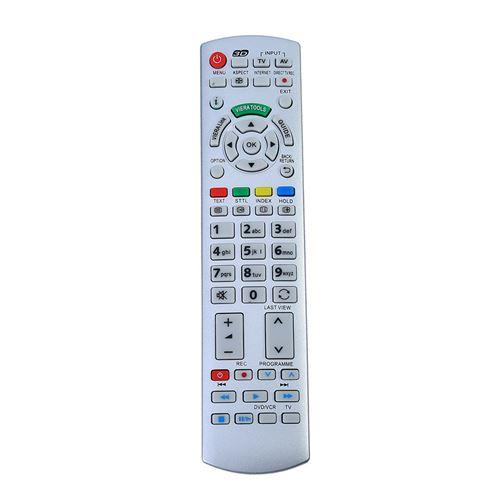 Télécommande TV pour Panasonic N2QAYB000504 N2QAYB000673 N2QAYB000785 TX-L37EW30 TX-L42ES31