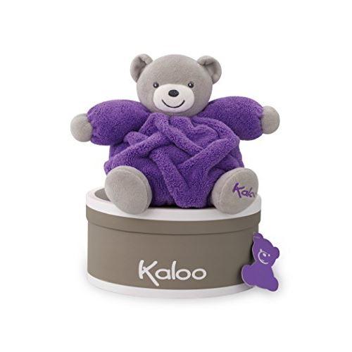 Kaloo Doudou Chubby Bear, Violet Néon, Petit