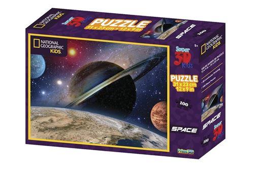 Prime 3D puzzle Space Landscape 100 Pièces