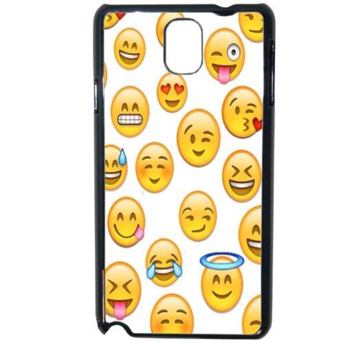 Coque Smiley Emoticone Compatible Samsung Galaxy Note 3 Etui Pour Telephone Mobile Achat Prix Fnac