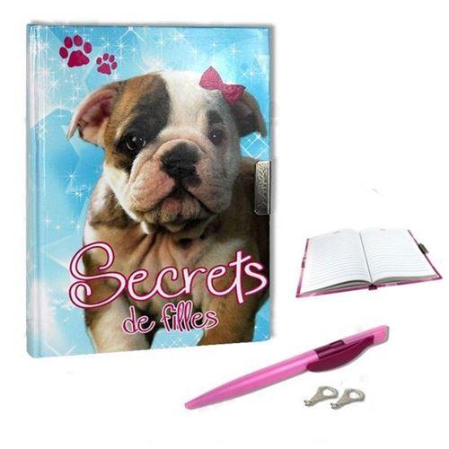 Journal Intime Chien - Secrets de fille