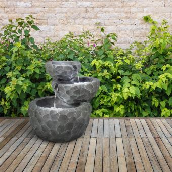 40€ sur Blumfeldt Murach Fontaine de jardin en cascade - Panneau d ...