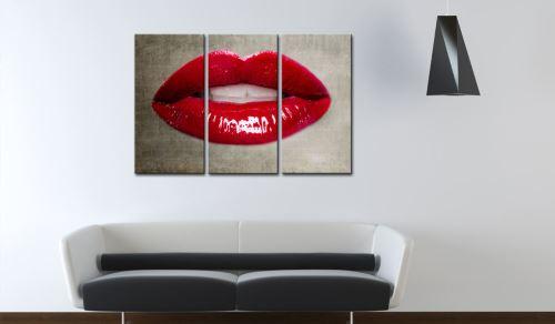 90x60 Tableau Inedit Female lips