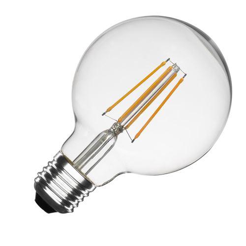TECHBREY Ampoule LED E27 Dimmable Filament Planet G95 6W