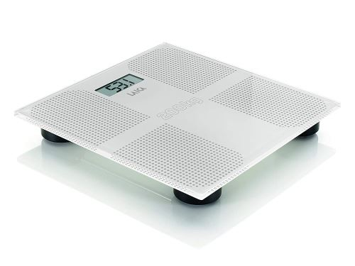LAICA Electronic Personal Scale Balance Personnel Plaza Blanc – Balance électronique LCD, 70 x 27 mm, Blanc, 302 mm, 303 mm, 38 mm