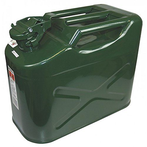 Jerrican métal, homologué 10 litres Type US