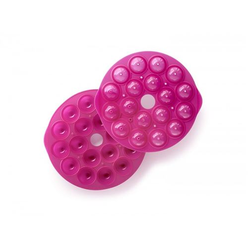 Moule a pop cakes (x18) rose en silicone lekue - f671999