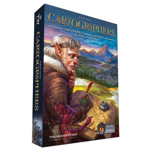 Cartographers: une Épopée dans l'Univers de Roll Player