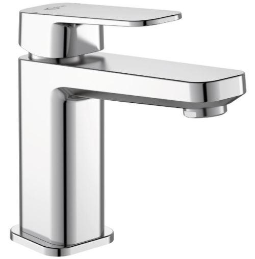 Ideal Standard - Mitigeur lavabo monotrou chromé Tonic II avec tirette et vidage métal