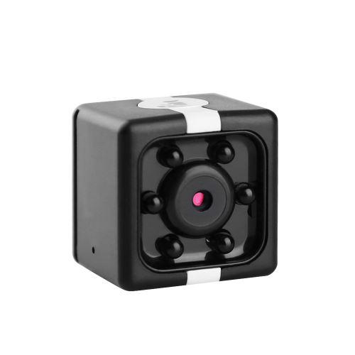 Caméra mini cube 720p HD IR vision nocturne 120 ° mémoire étendue 32GB grand angle