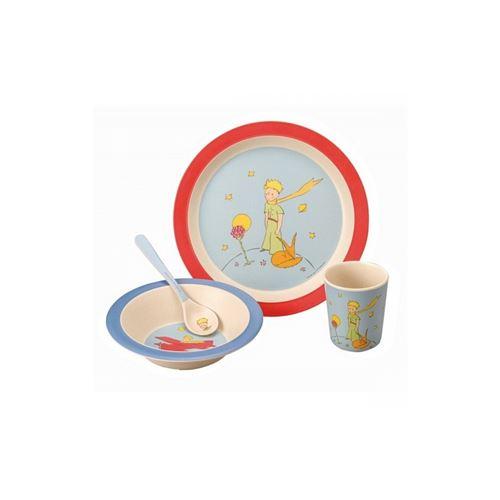 Petit Jour Paris Coffret cadeau 4 pièces en bambou Le Petit Prince Multicolore