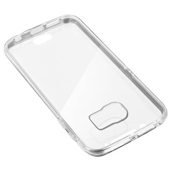 Coque Intégrale Rigide Avant Arrière Samsung Galaxy S6 Edge - Transparente