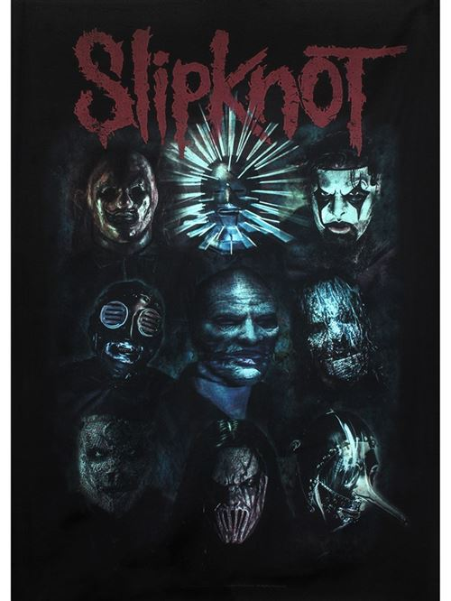 Drapeau Slipknot Oxidized 77 x 105 cm