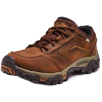 Merrell Moab Adventure Lace Waterproof Chaussures de sport en Dark Earth Marron J91825 [UK 7 EU 41]