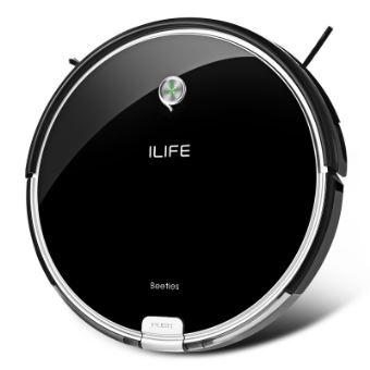 ILIFE A6 Aspirateur Robot Intelligent Noir Aspirateur