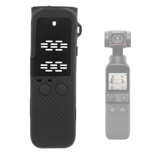 Couvercle de protection en silicone pour Pocket 2 gimbal - Noir