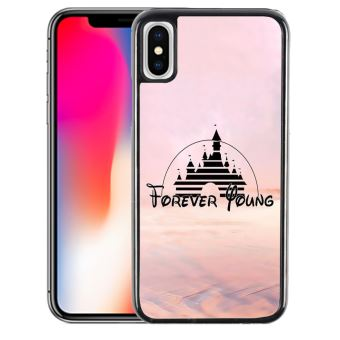 clearance prices timeless design affordable price Coque pour iPhone XS MAX disney forver young illustration