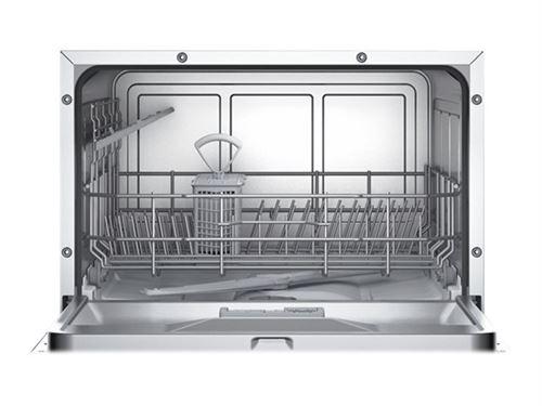 Bosch Lave-vaisselle compact pose libre SKS50E32EU Serie 2/A+/174 kWh/an/6 couverts/technologie ActiveWater/capteur de charge Weiß