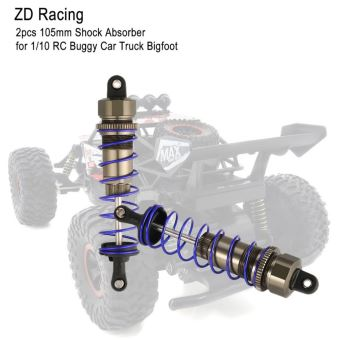 Purple ZD Racing 2pcs 105mm Shock Absorber Damper Suspension for 1//10 RC Buggy Car Truck Bigfoot Model Spare Parts Accessories
