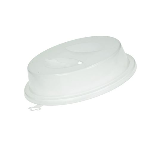 Cloche (47663-35524) Four micro-ondes 484000008434, 484000000699 WHIRLPOOL, BAUKNECHT, ARISTON HOTPOINT, KITCHENAID - 47663_7321429554435