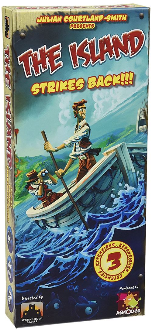 Jeu d'ambiance Asmodee The Island Strikes back !!! Extension