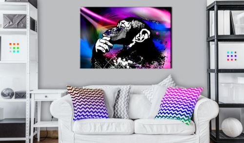 Tableau - Neon Party .Taille : 60x40