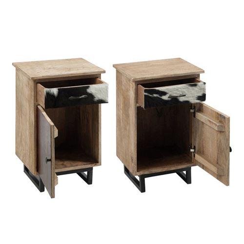 De Chevet Porte Tiroir 1 Cowly PrixFnac Tables Duo Achatamp; Nnwv8m0O