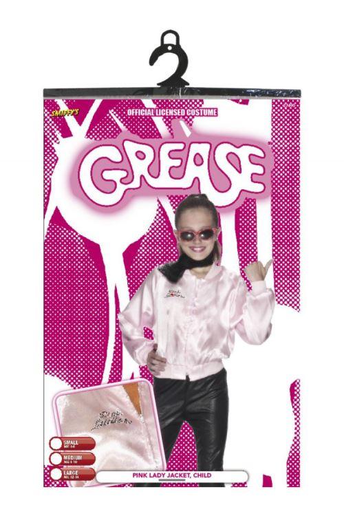 Costume Veste Rose Enfant Grease™ Pink Lady , Rose , M