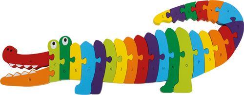 Puzzle Crocodile «Alphabet»
