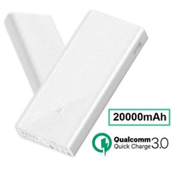 Xiaomi Mi Powerbank 2C 20 000mAh Externe Batterij Wit