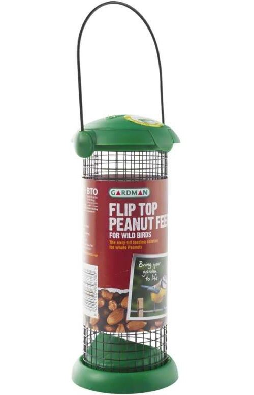 Gardman - Distributeur de graines spécial arachides Fliptop