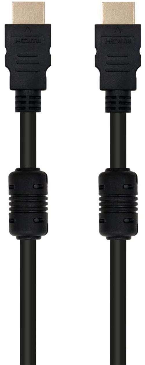 Ewent câble HDMI Ultra HD 4 K, 2 m, Noir