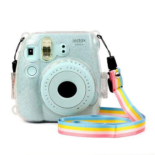 Étui de protection transparent brillant pour Fujifilm Instax Mini 8/ 8+/ 9