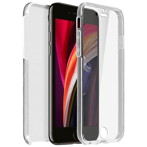 Coque Intégrale Rigide Avant Arrière iPhone SE 2020/7/8 - Transparente