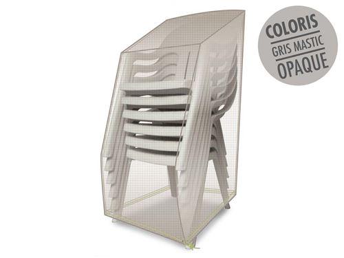 Housse de protection pour piles de chaises 66 x 66 x 110 cm LUXE