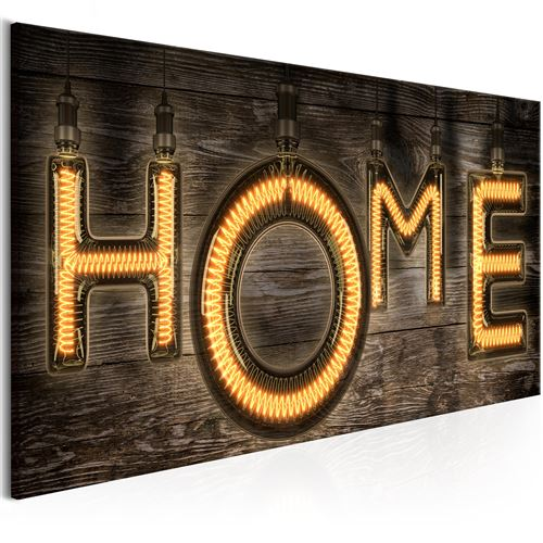 Tableau - Incandescent Home - Décoration, image, art | Vintage | 100x45 cm |