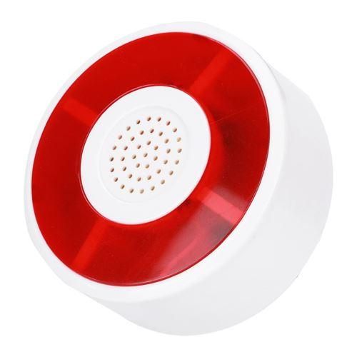 Alarme Lampe de sécurité clignotante Système d'alarme Strobe Signal Lumière DC 12V LED