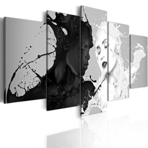 Tableau - Love at first sight .Taille : 100x50